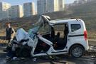 Başakşehir'de trafik kazası: 1 ölü, 4 yaralı