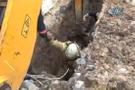 Beylikdüzü'nde toprak kayması!  Toprak altında kalan işçi kurtarıldı