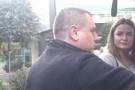 Taksi durağı kahyası, UBER sürücüsüne tehdit yağdırdı