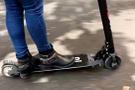 Scooter kullanan çocuğa 6 ceza puanı yazıldı