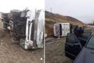 Ankara'da cenaze dönüşü feci kaza! Çok sayıda yaralı var