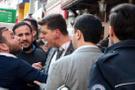Şişli'de kavga: Ortalık savaş alanına döndü