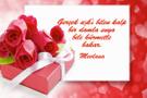 Sevgililer günü Mevlana sözleriyle resimli mesajları