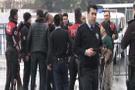 İstanbul Adalet Sarayı önünde bıçaklı sopalı kavga!