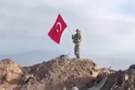 Afrin'deki son durum! Türk bayrağını böyle diktiler
