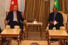 Erdoğan, Moritanya Cumhurbaşkanı ile görüştü