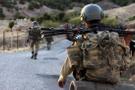 Taciz ateşi açan teröristler öldürüldü
