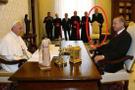 Papa Erdoğan'ı alçak koltuğa mı oturtmak istedi? İşin aslı başka çıktı