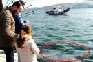 İstanbul Boğazı'nda ilginç görüntü görenler çok şaşırdı