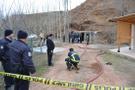 Aksaray'da yanmış erkek cesedi bulundu !