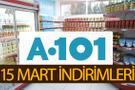A101 15 Mart fırsat  ürünleri reyonu hangi ürün ne kadar?