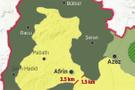 Afrin haritasına bakın! 3 günde Afrin'de nereden nereye gelindi?