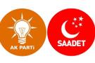 AK Parti'ye göre Saadet Partisi
