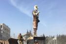 Afrin'de Kawa heykel devrildi Kawa heykelinin anlamı ne teröristler için neden önemli?