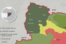 Afrin son durum haritası - 15 günde haritalar öyle bir değişti ki...