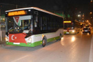 Bursa Halk Otobüsü şoförlerinden Mehmetçiğe destek konvoyu