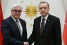 Cumhurbaşkanı Erdoğan, Steinmeir ile görüştü