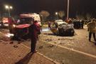 Kayseri'de feci kaza 6 ölü 2 yaralı