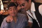 Nusret'in şovu Maradona'yı mest etti!