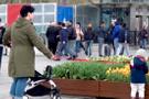 İstanbul'un göbeğinde hayrete düşüren manzara!