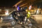 Otoyol gişelerinde feci kaza
