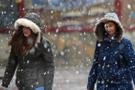 Bolu hava durumu kar kalınğı 5 santimetreyi geçti