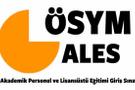 ALES sınav giriş yeri bilgisi-sınav belgesi ÖSYM sayfası