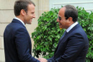 Sisi ve Macron telefonda Suriye'yi görüştü