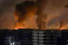Suriye'de askeri üslerde büyük patlamalar onlarca ölü