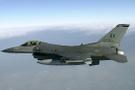 ABD'de F-16 tipi savaş uçağı düştü