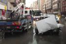 Ankara'da kaza yayanın korkunç ölümü