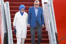 Erdoğan Londra'ya giderken uçaktan bağlanıp...