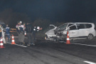 Tekirdağ'da iki otomobil kafa kafaya çarpıştı
