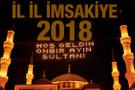 2018 Ramazan İmsakiyesi - Diyanet sahur vakti iftar saatleri