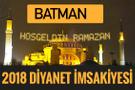 2018 İmsakiye Batman- Sahur imsak vakti iftar ezan saatleri