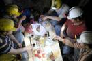 Türkiye ilk sahuru yaptı dünyanın en zengin sofrası yerin altındaydı