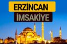 Erzincan İmsakiye 2018 iftar sahur imsak vakti ezan saati