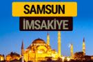 Samsun İmsakiye 2018 iftar sahur imsak vakti ezan saati