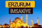Erzurum İmsakiye 2018 iftar sahur imsak vakti ezan saati