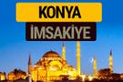Konya İmsakiye 2018 iftar sahur imsak vakti ezan saati