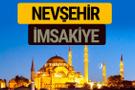 Nevşehir İmsakiye 2018 iftar sahur imsak vakti ezan saati