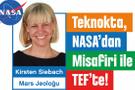Teknokta NASA'dan misafir getiriyor! Buluşma 19 Mayıs'ta
