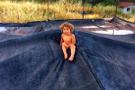 Geceyi ormanda geçiren 2.5 yaşındaki çocuk böyle bulundu