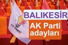 AK Parti Balıkesir milletvekili adayları kimler 2018 listesi