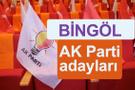 AK Parti Bingöl milletvekili adayları kimler 2018 listesi