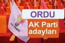 AK Parti Ordu milletvekili adayları kimler 2018 listesi