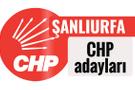 CHP Şanlıurfa milletvekili adayları kimler 2018 listesi