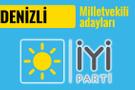 İyi Parti Denizli milletvekili adayları 2018 listesi