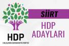 HDP Siirt milletvekili adayları 27. dönem listesi