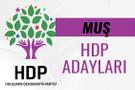 HDP Muş milletvekili adayları 27. dönem listesi